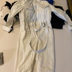 NASTYGAL white jumpsuit